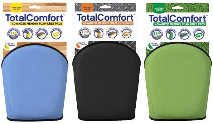 Total Comfort Knee Pad Color Choices