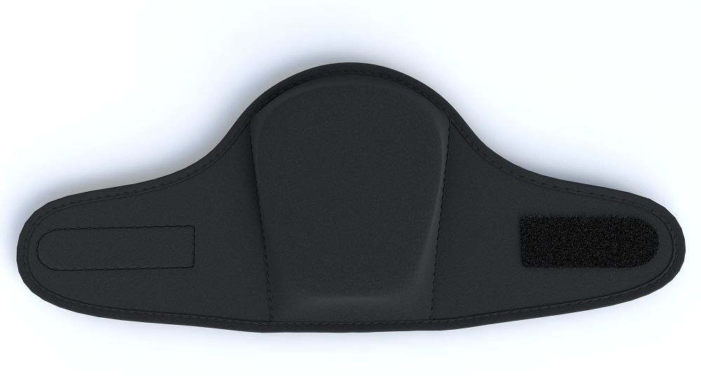 Total Comfort Knee Pad Back View Straps Open