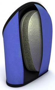 Total Comfort Knee Pad Inside Foam View