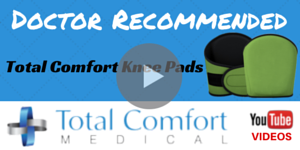Doctor Recommended Knee Pad - Total Comfort Advanced Memory Foam