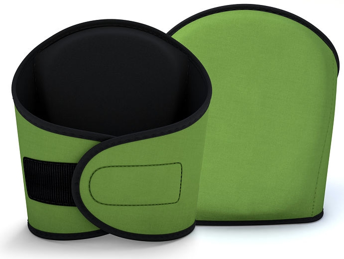 Total Comfort Green Knee Pad Set