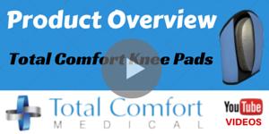 Advanced Memory Foam Knee Pads - Total Comfort Medical